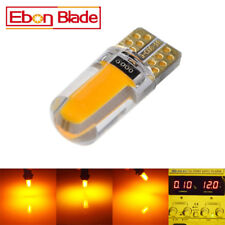 2 X T10 194 168 W5W COB 18SMD Silica Canbus Car LED Light Bulbs Amber Orange 12V