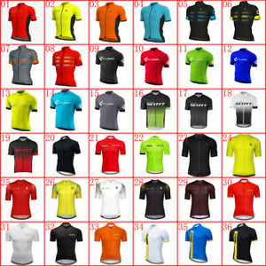 2021 Mens Cycling Jersey Bicycle Shirts Summer Team Bike Clothing Sports Outfits