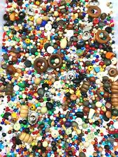 Vintage Plastic Beads - Huge Lot - 2.5lbs