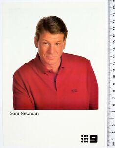 Channel 9 Nine, TV FAN CARDS, Sam Newman