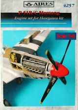 Aires 1/48  P-51B/C Mustang Engine Set for Tamiya kit # 4257