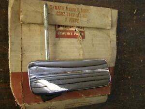 NOS OEM Ford 1963 1964 Fairlane Station Wagon Tail Gate Door Handle Chrome