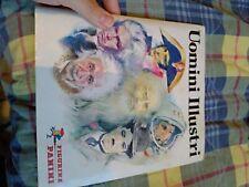 """ALBUM PANINI """"Uomini illustri"""" 1980 COMPLETO OTTIMO STATO"""