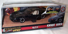 Knight Rider K.I.T.T. 1-24 Diecast with working Scanner Light New  Jada 99799