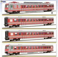 OS.KAR 2073 Set ALe 642 + 2 Le 764 + pilota Le 682, livrea MDVE rosso/grigio FS