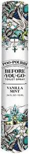 Before-You-Go Toilet Spray by Poo Pourri, 10 ml Vanilla Mint