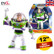 "12"" Toy Story Buzz Lightyear Ultimate Talking Action Figure Toy w/ 15 phrases"