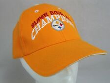 Pittsburgh Steelers Superbowl XL Champions NFL Strapback Baseball Hat Cap