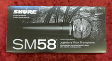 Shure SM58S Legendary Performance Dynamic Unidirectional Microphone With Switch