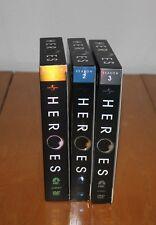 Heroes  Seasons 1, 2, 3 DVD'S