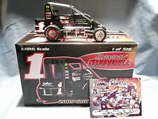 SAMMY SWINDELL 2009 CHILI BOWL WINNER R&R MIDGET 1:18 RACING HOOSIER OPEN WHEEL