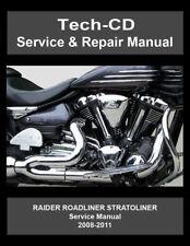 Yamaha motorcycle manuals literature ebay yamaha roadliner stratoliner raider service repair manual s midnight 2008 2011 fandeluxe Image collections