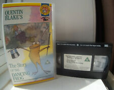 Quentin Blake's - The Story Of The Dancing Frog (animated) VHS Video