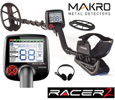 MAKRO RACER 2 METAL DETECTOR CERCAMETALLI FIND GOLD JEWELRY+ ACCESSORIES RACER2