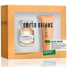 UNITED DREAMS STAY POSITIVE de BENETTON COLORS  Colonia / Perfume 80 mL + Body
