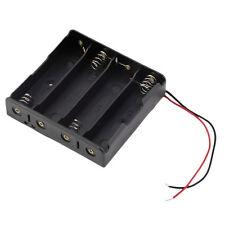 Batteriehalter für 4x AA Batterien Gehäuse mit Kabel Batteriefach/Mignon/Akku