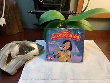 Disneys Animated Storybook POCAHONTAS CD-ROM Macintosh complete VINTAGE Rare