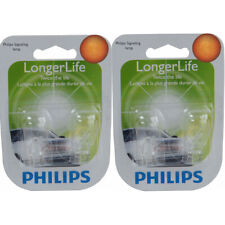 Two Philips Long Life Mini Light Bulb 921LLB2 for 921 921LL T-5 LL 12.8V ml