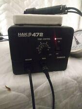 Hakko 472 Model 472 1 Iron Soldering Desoldering Rework Station With 807 Tool