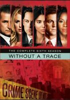 Without a Trace: The Complete Sixth Season (Season 6) (5 Disc) DVD NEW