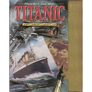 Murder on the Titanic 1000 piece Puzzle