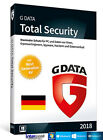 G Data Total Security 2018 Vollversion 1 PC & Handbuch (PDF) Download NEU