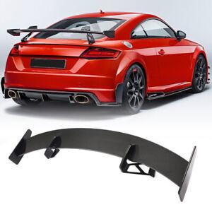 For Audi TT TTS TTRS Coupe 15-20 Dry Carbon Fiber Rear Trunk Spoiler Wing Lip