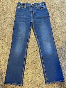 **VERY NICE** Old Navy Denim BOYS Regular Boot Cut Blue Jeans--Size 14