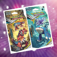 Pokemon | Theme Deck | Set of Two | Sun and Moon Cosmic Eclipse | NEW RELEASE