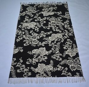 Modern Block Printed Beautiful Floral Area Rug Home Decor Rug 4x6 feet DN-989