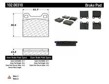 Disc Brake Pad Set-FWD Rear,Front Centric 102.00310
