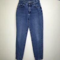 Vintage Lee Womens Relaxed Fit Super High Waist Mom Jeans Tapered Leg