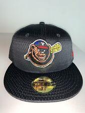 Men's New Era MILB Yakima Bears Mesh Black Batting Practice Baseball Hat 7 NWT
