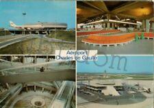 Aéroport Paris Charles-De-Gaulle Roissy l'aérogare et satellite - avion 747 - 1