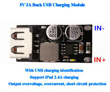 DC-DC 8V~32V 12V 24V To 5V 3A Buck USB Charging Module Mobile Phone Charger