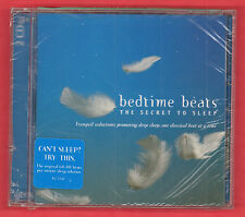 Bedtime Beats The Secret to Sleep Music CD 2006 2 Discs Rhino R277617 Sealed