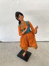 VTG INDIAN dance Figure Bharatnatyam Design Asia S Asian Art Decor Tribe Culture