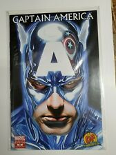 CAPTAIN AMERICA #34 2008 ALEX ROSS VARIANT NM SIGNED AND NUMBERED WITH COA!