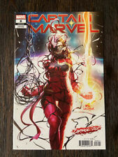 Captain Marvel 8 Inhyuk Lee Carnage-ized Variant NM 1st Appearance of Star 2019