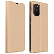 Funda Samsung Galaxy S10 Lite Cartera Cierre y F.Soporte - Oro rosa