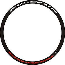 Adesivi per cerchi bici Fulcrum Red Metal 5