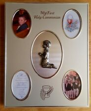 Collage Photo Frame with Pewter Boy.