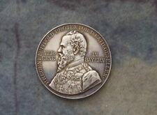 Medaille 1909. Silber.  Bayern. München.  Luitpold.