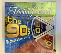 ✔️TRIVIAL PURSUIT Family Board Game 90s Edition The Decade | Parker Hasbro