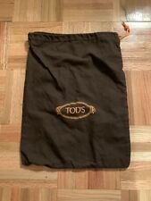 Tods Dust Bag Italy Shoes Brown Orange