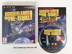 PS3 - Borderlands The Pre-Sequel WITH Shock Drop Slaughter Pit Challenge Map DLC