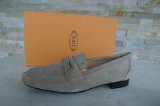 Tods Tod´s Gr 39,5 Slipper Halbschuhe Schuhe shoes beige LINGOTTO neu UVP 330 €