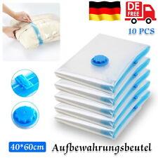 5-20x Vakuumbeutel Aufbewahrungsbeutel Vakuum Vacuum Beutel für Kleidung Betten