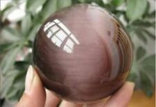 40mm Purple Mexican Opal Sphere Crystal Ball /Gemstone +stand