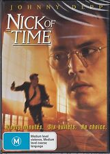 NICK OF TIME - Johnny Depp, Christopher Walken, Courtney Chase - DVD